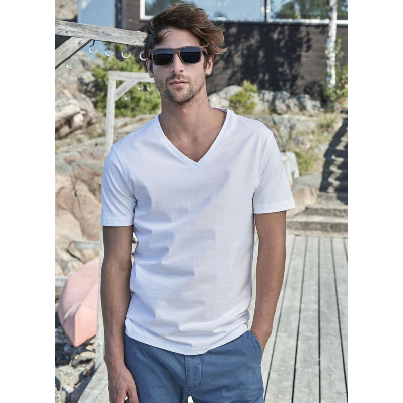 T-Shirt homme col V Tee Jays 8006