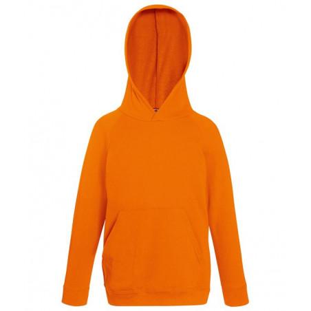 Sweatshirt capuche enfants Fruit of the Loom