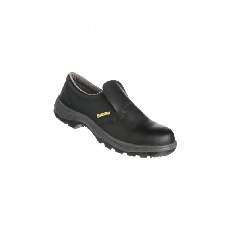 De Cuir Sécurité Chaussure Cuisinier Noir Imperméable Pour En RjL45A