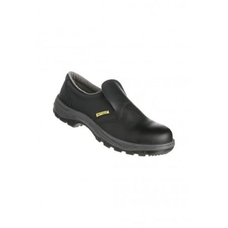 Chaussures noires cuisine Safety Jogger