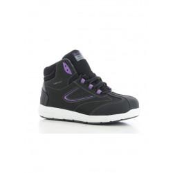 Chaussures dame sécurité cuir Safety Jogger