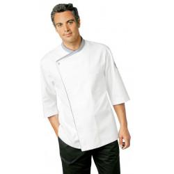Veste cuisine homme manches 3/4 boutons-pression Bragard