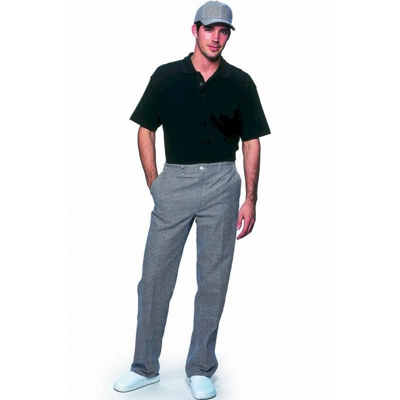 Pantalon de cuisine 100 coton le prix le plus bas pour les coles - Pantalon pied de poule cuisine ...