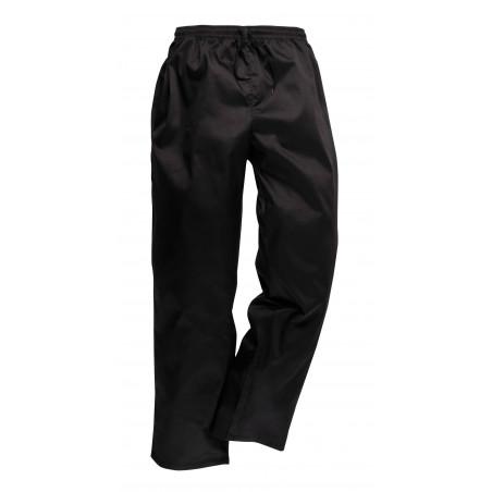 Pantalon noir cuisine mixte C070 Portwest