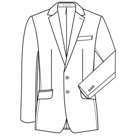 Veston homme Greiff Premium 1116 Regular Fit