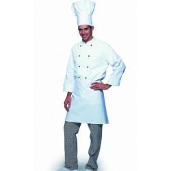 Tablier cuisinier sans bavette sans poche