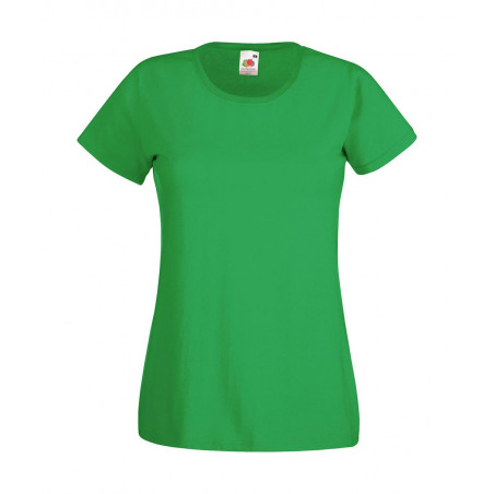 Dames stretch T-Shirt Valueweight