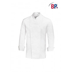 Veste cuisine homme manches longues boutons-pression BP 1516