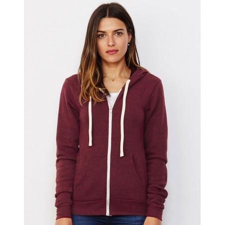 Unisex capuchon triblend sweatshirt