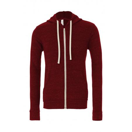 Sweatshirt capuche unisexe triblend