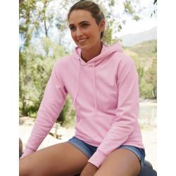 Sweatshirt capuche dames cintré