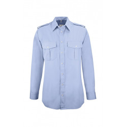 Chemise pilote Greiff manches longues