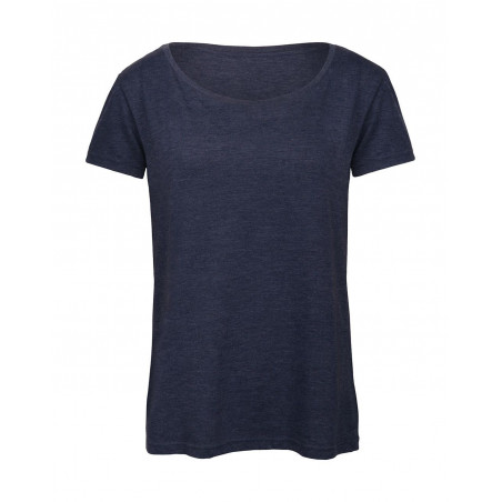 T-shirt manches courtes col rond dame
