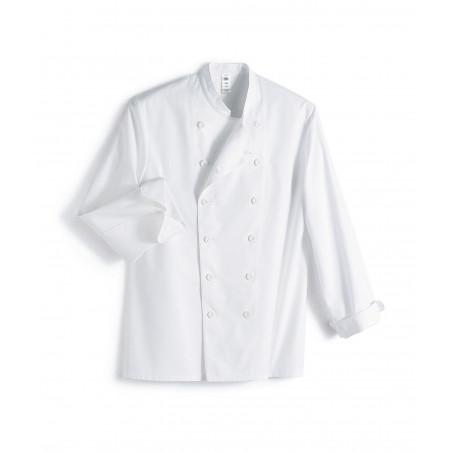 Veste de cuisine mixte manches longues