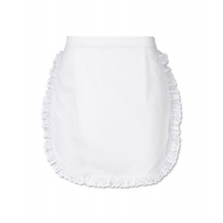Tablier serveuse broderie anglaise
