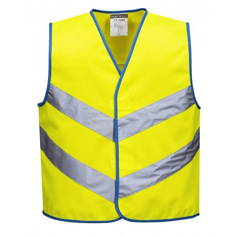 Kids fluo waistcoat