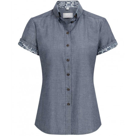Dames blouse denim KM