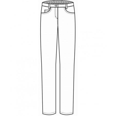 Pantalon de cuisine rayé