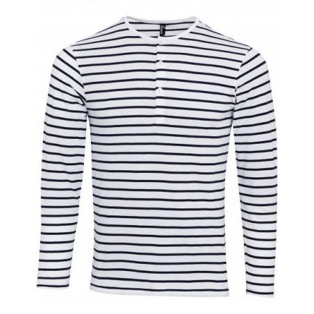 T-Shirt manches longues à 3 boutons