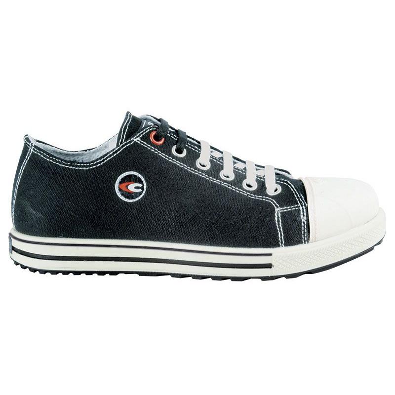 Chaussure sécurité cuir et tissu Cofra