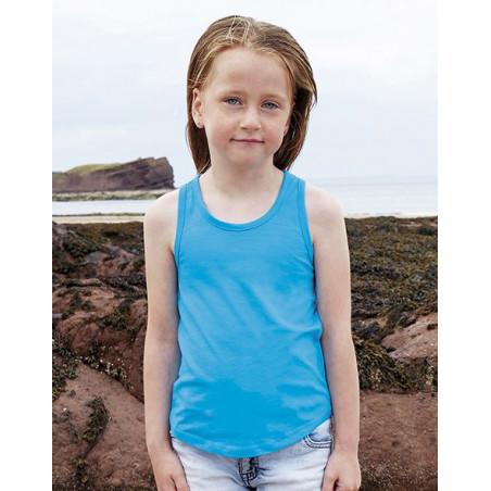 Girls racerback tank vest