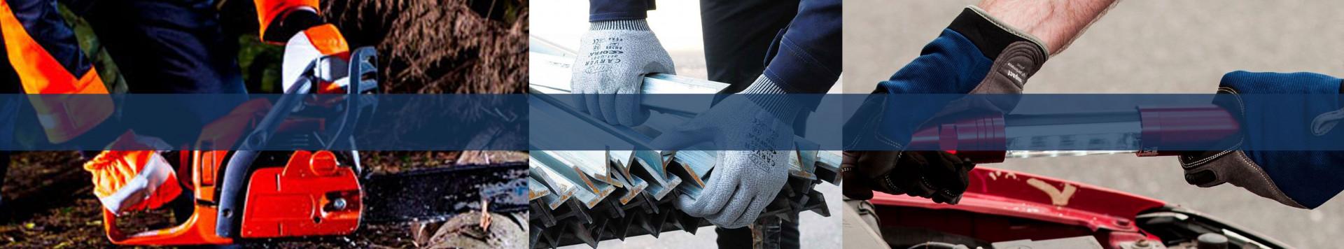 Protection des mains avec normes EN pour tous les travailleurs.