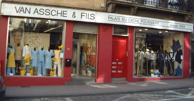 Vitrine Palais du Cache-poussière - Van Assche - Sint-Gillis
